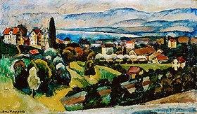 Ilja Iwanowitsch Maschkoff: Ansicht der Stadt Nervi