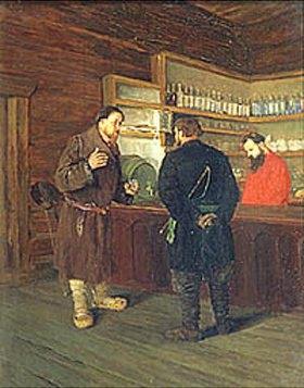 Timofej Mosgov: In einer Taverne