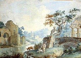 Ilja Neelov: Italienische Landschaft