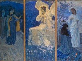 Michail Wassiljew Nesterow: Die Auferstehung. Triptychon
