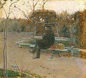 Pjotr Alexandrowitsch Nilus: Auf einer Bank am Boulevard