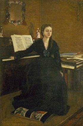 Edgar Degas: Madame Camus am Piano