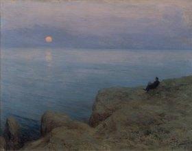 Leonid Ossipowitsch Pasternak: Der Dichter Alexander Puschkin am Ufer des Meeres