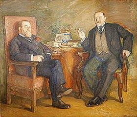 Leonid Ossipowitsch Pasternak: Die Kunstsammler O. Zetlin und D. Vysotsky
