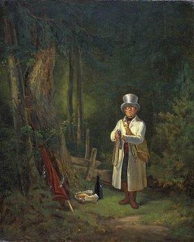 Carl Spitzweg: Der Sonntagsjäger