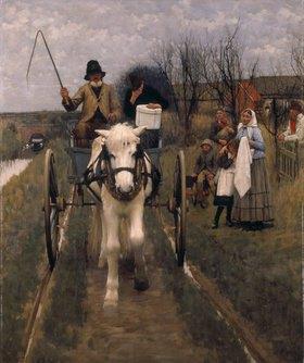 Henry Herbert La Thangue: Abschied von Daheim