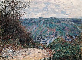 Claude Monet: Hohlweg bei Giverny