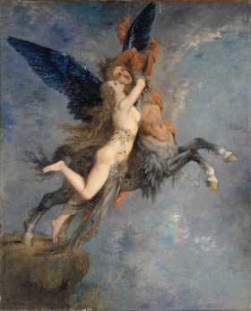 Gustave Moreau: Die Chimäre