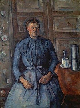 Paul Cézanne: Frau mit Kaffeekanne (La femme à la cafetière)