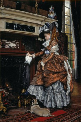 James Jacques Tissot: Dame am Kamin