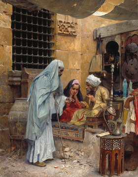 Charles Wilda: Im Bazar