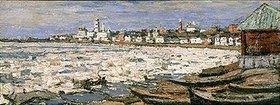 Pjotr Petrowitschev: Treibendes Eis auf der Wolga bei Jaroslawl