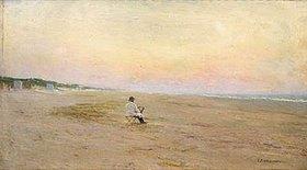 Iwan Pawlowitsch Pochitonow: Maler am weiten Meeresstrand