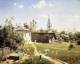 Vasilij Dimitrijew Polenow: Moskauer Gerichtsgarten