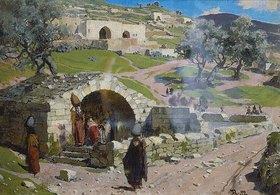 Vasilij Dimitrijew Polenow: Die Jungfrauenquelle in Nazareth