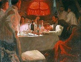 Lukian Wassiljewitsch Popov: Unter der roten Lampe. 1910-er Jahre