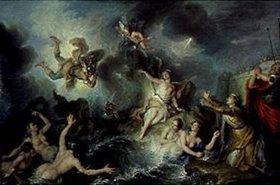 Charles Antoine Coypel: Perseus befreit Andromeda