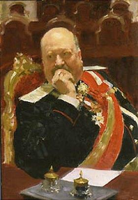 Ilja Efimowitsch Repin: Der Staatsrats-Abgeordnete Fürst A. Ignatiew