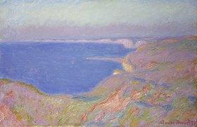 Claude Monet: Untergehende Sonne bei Dieppe