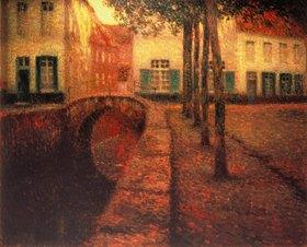 Henri Le Sidaner: Der Kanal