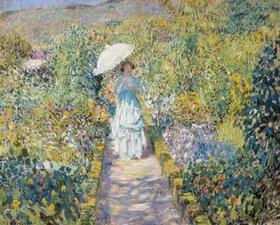 Frederick Karl Frieseke: Der Gartenweg
