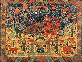 Nikolai Konstantinow Roerich: Der Kampf mit dem Drachen