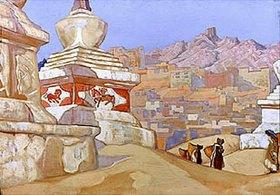 Nikolai Konstantinow Roerich: Das Pferde-Portal