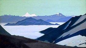 Nikolai Konstantinow Roerich: Bergnebel im Himalaya