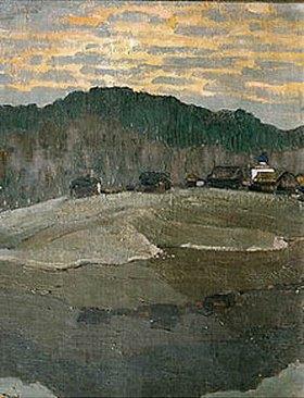 Nikolai Konstantinow Roerich: Sonnenuntergang