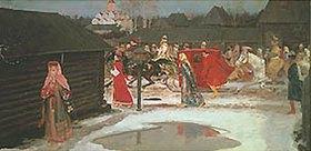Andrej Petrow Rjabuschkin: Hochzeitszug im Moskau des 17. Jahrhunderts