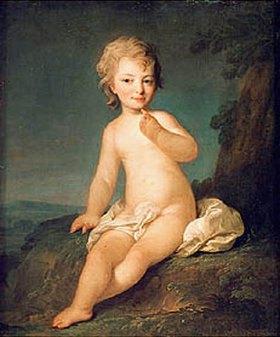Fjodor Rokotov: Nacktes Mädchen. 1780-er Jahre