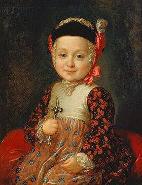 Fjodor Rokotov: Kinderbildnis des A.G. Bobrinsky, illegitimer Sohn der Zarin Katharina II