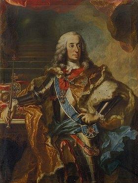 Georg Desmarées: Kurfürst Karl Albrecht von Bayern, als Karl VII. deutscher Kaiser (1742)