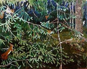 Arkadi Rylow: Waldbewohner (Eichhörnchen und Specht)