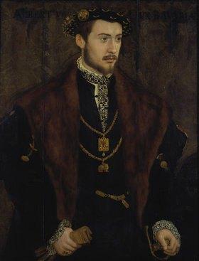 Hans Mielich: Herzog Albrecht V.von Bayern (der Großmütige)