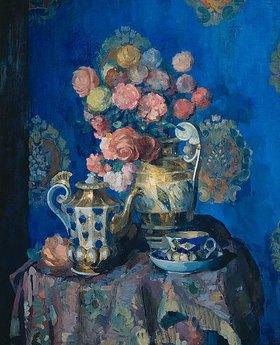 Nikolaj Sapunov: Stillleben mit Blumen