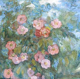 Nikolaj Sapunov: Das Bouquet. 1910-er Jahre