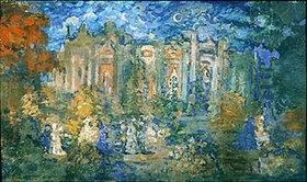 Nikolaj Sapunov: Nächtliches Fest im Park. 1900-er Jahre