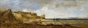 Eduard Schleich d.Ä.: Am Strand von Scheveningen