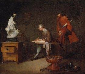 Jean-Baptiste Siméon Chardin: Im Malstudio