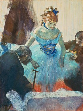 Edgar Degas: Tänzerin in der Garderobe