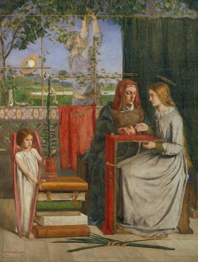Dante Gabriel Rossetti: Die Kindheit der Hl. Jungfrau Maria