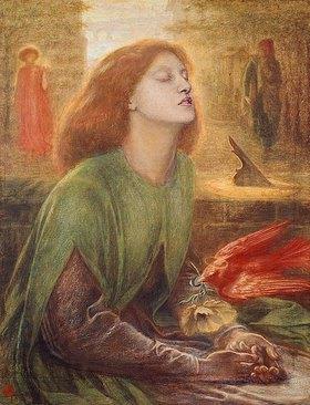 Dante Gabriel Rossetti: Die betende Beatrice