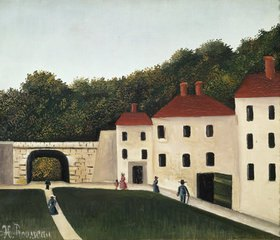 Henri Rousseau: Spaziergänger im Park
