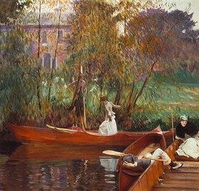 John Singer Sargent: Eine Boots-Party