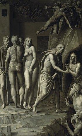 Florentinische Schule: Christus in der Vorhölle (16. Jahrhundert)
