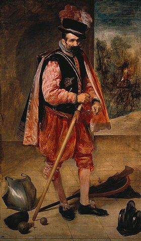 Diego Rodriguez de Velazquez: Bildnis des Hofnarren 'Don Juan de Austria'