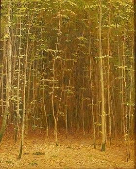 Carl Ludwig Noah Bantzer: Sonne im Frühlingswald. 1932 oder