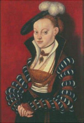 Lucas Cranach d.J.: Christiane Eulenau