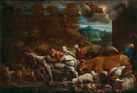 Bassano (Francesco da Ponte): Der Aufbruch Abrahams ins gelobte Land